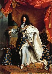 Ludwig XIV im Krönungsornat (1701)