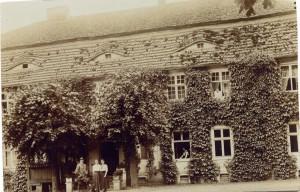 Schloss Buskow um 1910