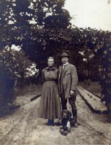 Georg Glöckner mit Frau